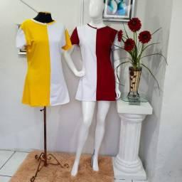 Vestidos Bicolor