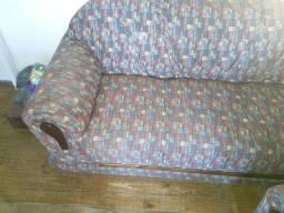 Jogo de sofá dois e três lugares