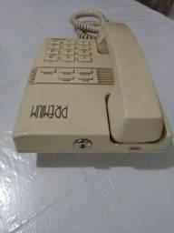 Telefone com cadeado
