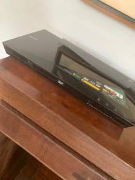 Blu-Ray Player 3D Sony Full HD, Wi-Fi, DLNA, Dolby True HD - BDP-S4100 s/ controle remoto