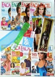 Vendo coleção de 8 revistas (usadas) de artesanato Faça Fácil