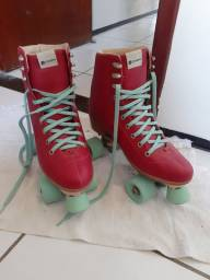 Patins 4 Rodas Retrô Oxer Alice