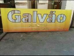 Placa para Banners 3.00x1.00