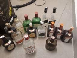 Garrafa whisky vazia