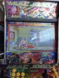 Fliperama 1252 jogos multi jogos