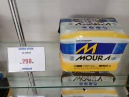 Bateria Moura 60ah 290,00 instalado a base de troca