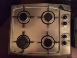 Cooktop 4 bocas usado