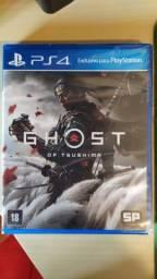 PS4 Ghost of Tsushima lacrado mídia física