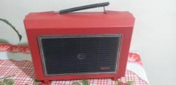 Toca disco  sonata anos 70  portátil funcionando