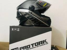 Vendo capacete R8 Pro Tork R8