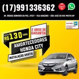 Amortecedores Honda City