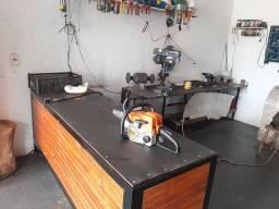 Em Votorantim!!!!! Oficina e manutenção de rocadeira e motosserra.
