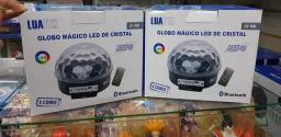 Bola Maluca Led Mp3 Bluetooth Globo Magico Luatek Lk306<br><br>