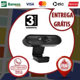 Webcam HD 720P com Microfone