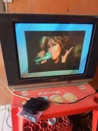 Televisao com conversor