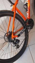 bicicleta aro29 catraca cassete quadro17e meio