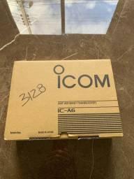 Radio aeronautico icom a6