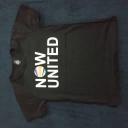 Camisas Now United e BTS