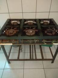 Fogão industrial 500,00