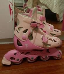 Roller patins rosa