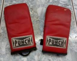 Luva Boxe Punch Profissional Sparring Pouco Uso, Dos Anos 90