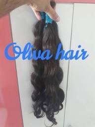cabelos humanos de 65 centímetros