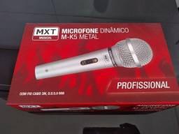 Microfone Dinâmico M-K5 Metal