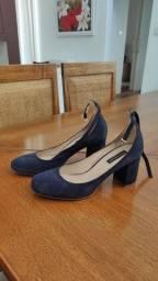 Sapato camurça le Lis blanc