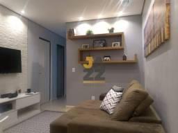 Lindo apartamento com 2 dormitórios à venda no condomínio Terras de São Pedro, 50 m² por R
