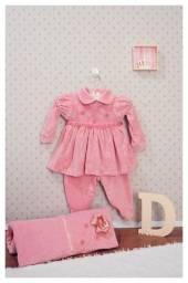 De 179 por 79. Saída Maternidade Kit Completo Para Menina!