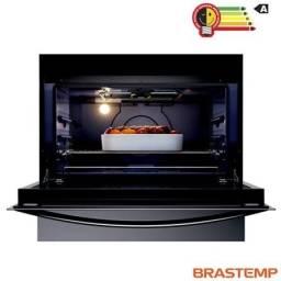 Fogão Brastemp 5 Bocas BFS5GCR com Turbo Chama e Touch Timer com Autodesligamento - Inox