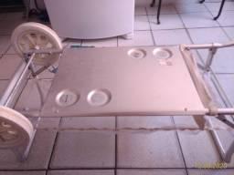 Carrinho/mesa de Praia de alumínio