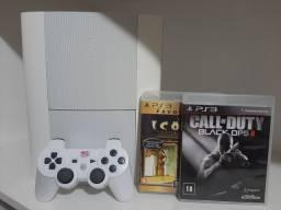 Playstation 3 super slim White 500 GB + Garantia - Até 12x no cartão de crédito!!!