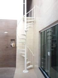 Escada Caracol ( Em chapa ou com piso em Madeira)