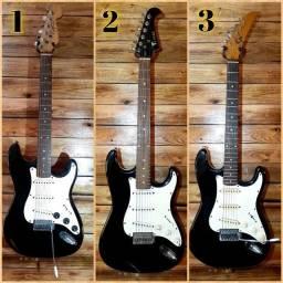 Guitarras (Eagle, epiphone,  e outras)
