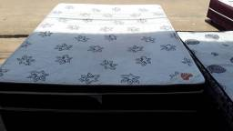 Vendo cama box casal Ortobom molas ensacadas
