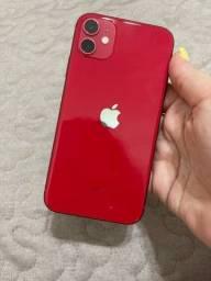 Iphone 11 64gb Novo troca em inferior