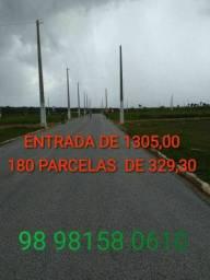 GS LOTES PARCELADOS NO MAIOBÃO/ OBRA A TODO VAPOR/ MELHOR LOTEAMENTO DA ILHA.