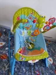 Cadeira de Balanço e Vibratório Fisher Price