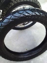 Vende-se pneu para Bros