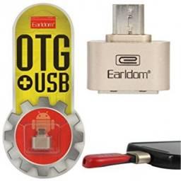Adaptador Otg Micro USB V8 para  Usb
