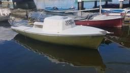 Barco de 7metros todo de fibra de vidro