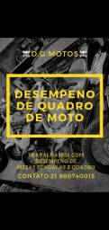 DESEMPENO DE QUADRO DE MOTOS