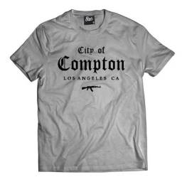 Camiseta Compton skull clothing