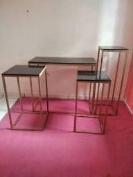 Vendo mesas de ferro