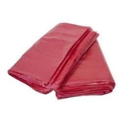 Sacos de lixo Vermelho