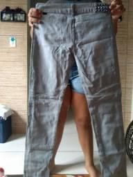 Calças jeans com laycra 8,00
