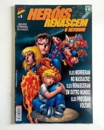 Heróis Renascem - O Retorno n. 1   [Marvel | HQ Gibi Quadrinhos]