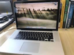 MacBook Pro 15 polegadas 2011 i7 + SSD 240GB