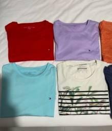 Camisetas De Marcas Tommy, Puma, Colcci - Tam G